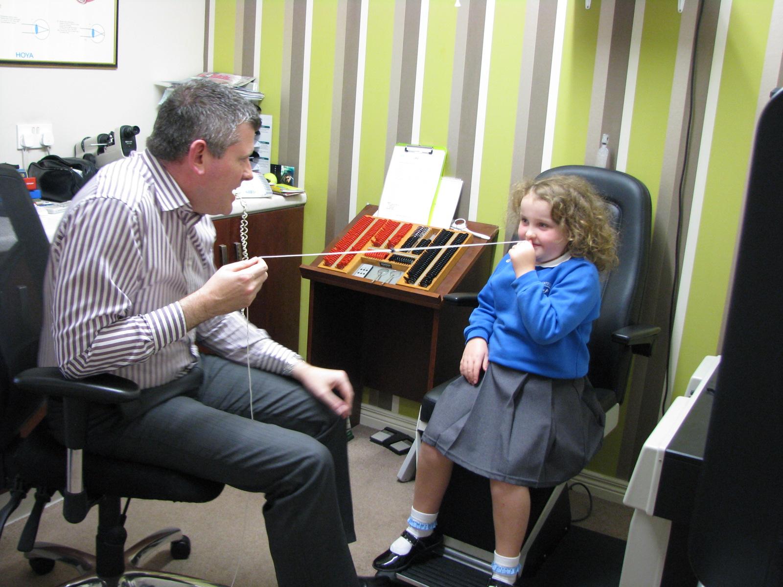 dyslexia eye test