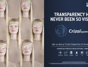 Crizal Sapphire | UV Lenses | McCrystals Opticians | Dungannon