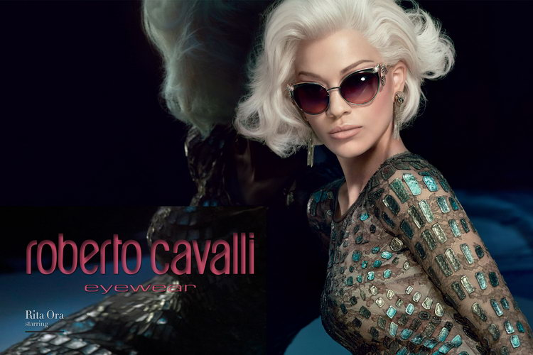 Roberto Cavalli Eyewear | Rita Ora | McCrystals Opticians Dungannon